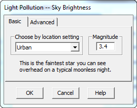 SkyTools Light Pollution