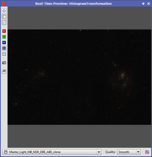 PixInsight Traitement 29