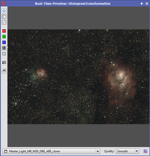 PixInsight Traitement 32
